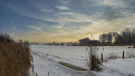Middelpolder Amstelveen in sneeuw