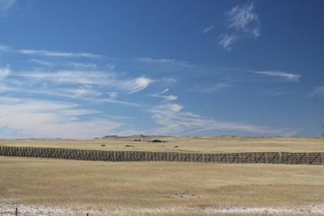 Snow Fence , South Dakota