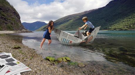 Bootjevaren in Noorwegen