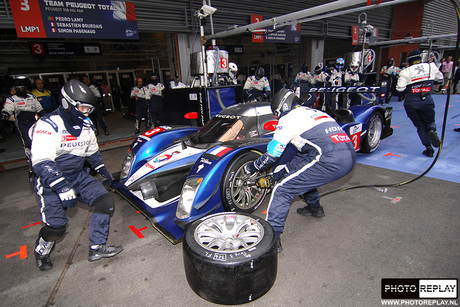 Pitstop Peugeot LMS Spa