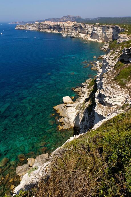 De kust naar Bonifacio