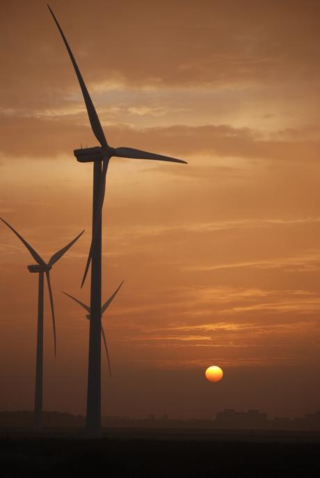 zonsopkomst regio Alphen aan den Rijn