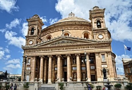 De kathedraal van Mosta