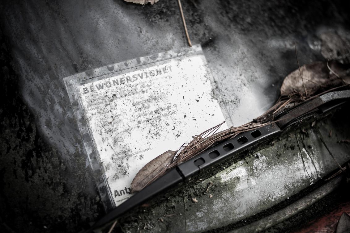 Little Beetle - - - foto door GertjanNeetens op 24-02-2015 - deze foto bevat: oud, kever, beeld, auto, eenzaam, oldtimer, voertuig, beetle, verlaten, volkswagen, alleen