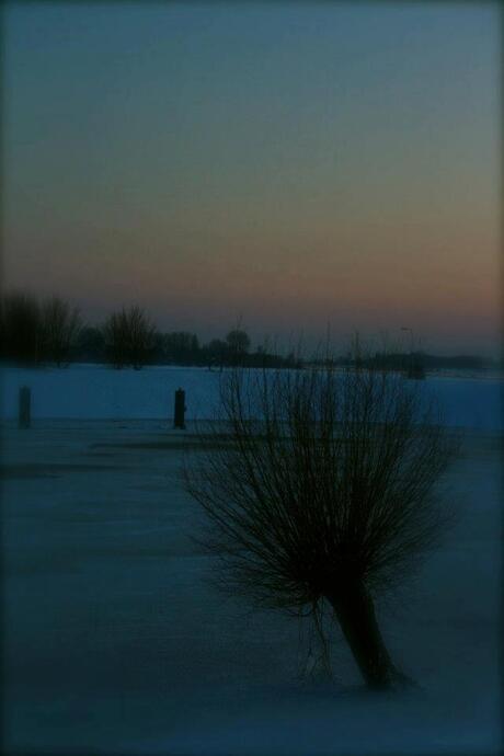 Eenzaamheid in de kou