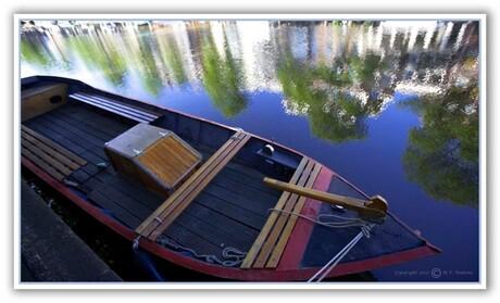 Leuk bootje op de Prinsen Gracht