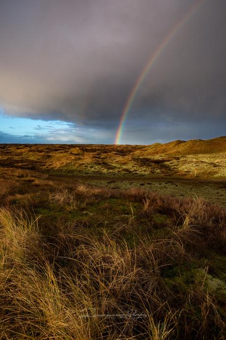 Regenboog weer