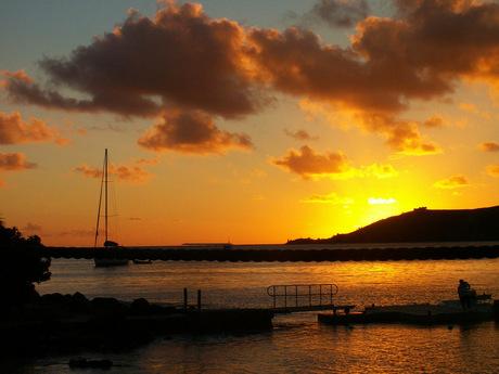 Sunset St. Maarten (2)