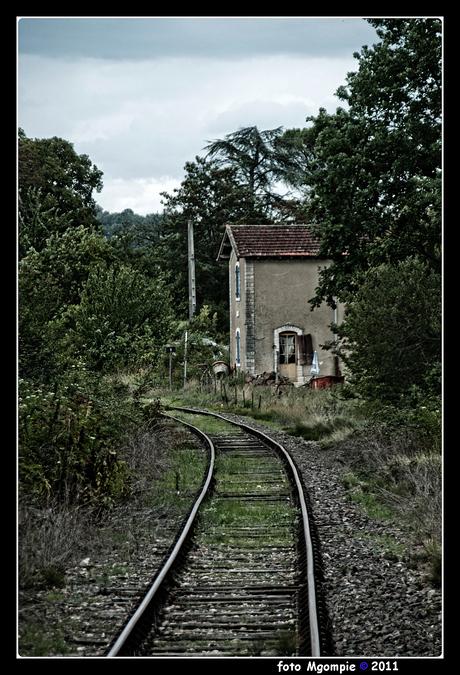Maison a la chemin de fer
