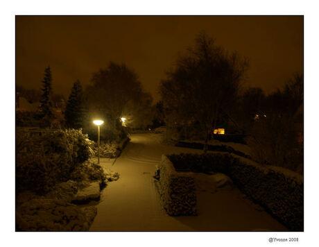 Hoe mooi kan zo'n winteravond zijn