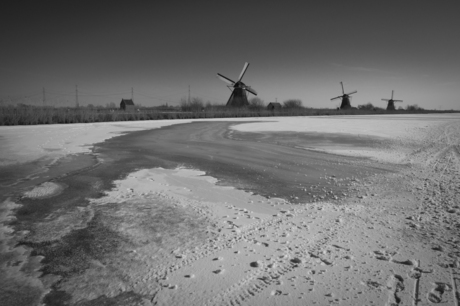 Sneeuw, ijs en molens