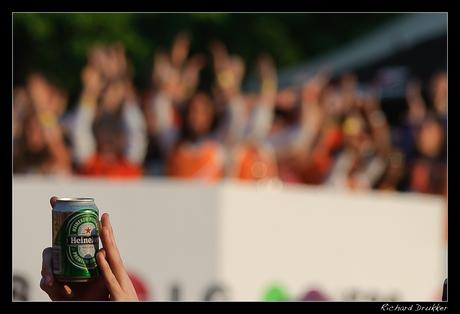 Zonder Heineken geen feest.