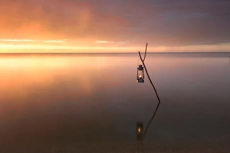 Stilte aan het IJsselmeer