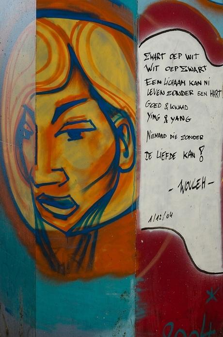 Grafitti met BoodSchap