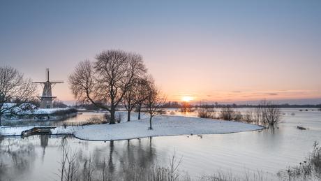 Koude Hollandse ochtend