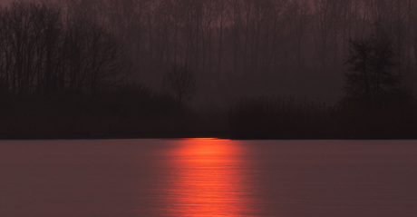 zonsopkomst dobbeplas Nootdorp