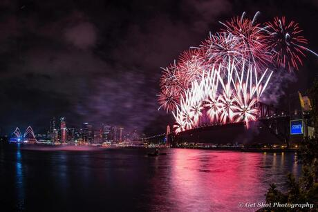 Vuurwerk Sydney 2