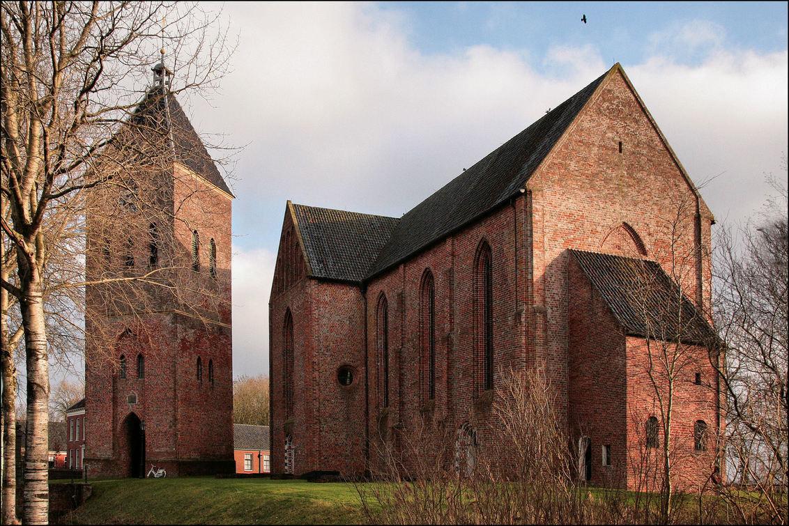 N-H Kerk Zeerijp - Kerk van Zeerijp, een van de prachtige Groninger Kerken die veeal in de 13 e eeuw zijn gebouwd - foto door Teunis Haveman op 14-01-2020 - deze foto bevat: kerk