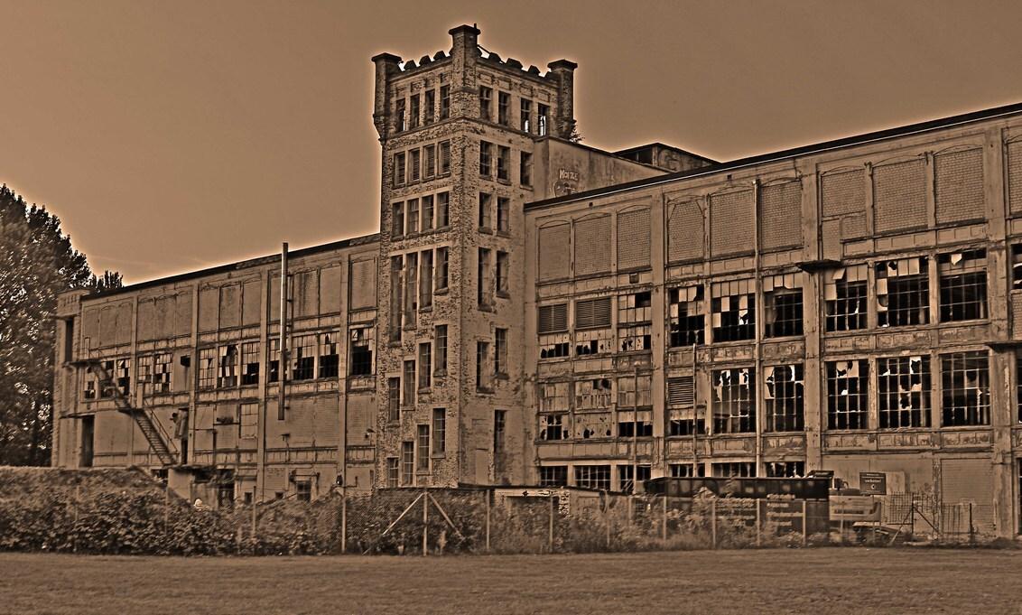 oude textielfabriek Gronau - Oude fabriek Gronau - foto door hprinsen op 22-09-2020 - deze foto bevat: bewerking, hdr