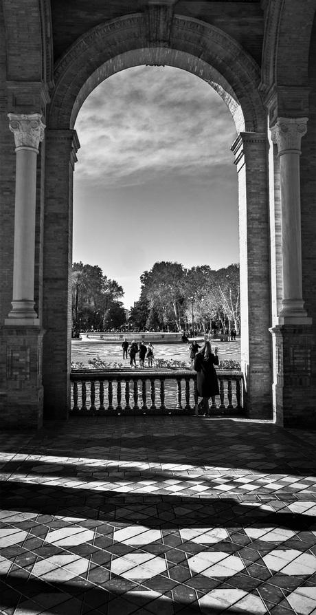 Toeristen in Spanje