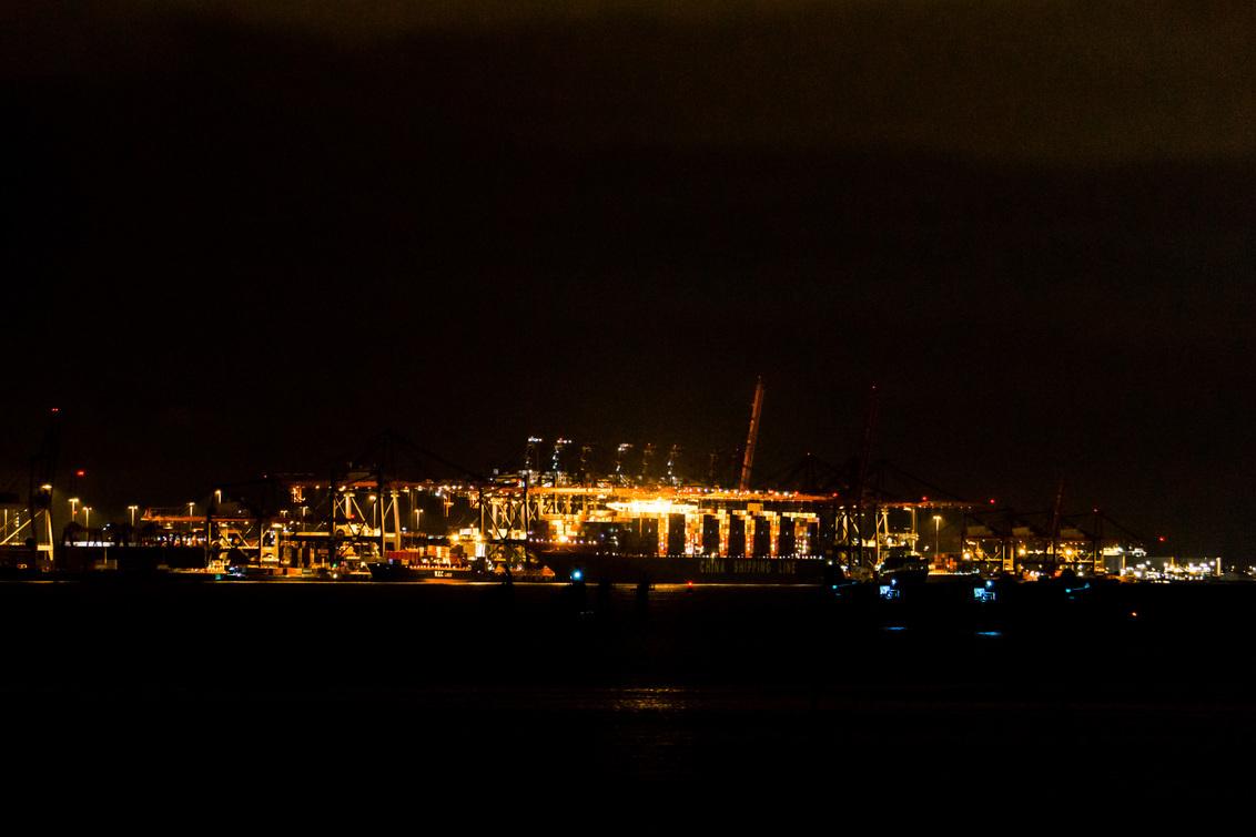 Euromax by Night - Nachtfoto van de Euromax Maasvlakte 2 Rotterdam - foto door arjen1985 op 25-06-2018 - deze foto bevat: maasvlakte, haven, nacht