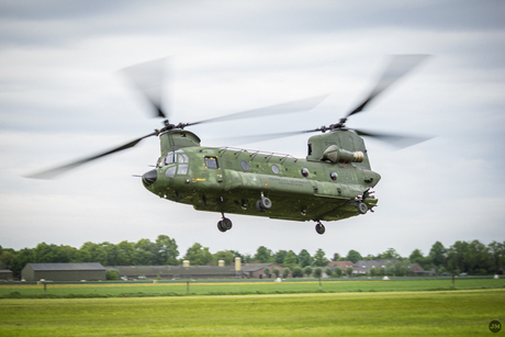 Chinook taking off