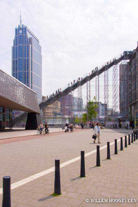 Klimmers in Rotterdam