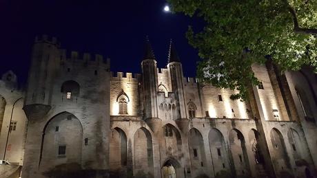 Avignon bij nacht