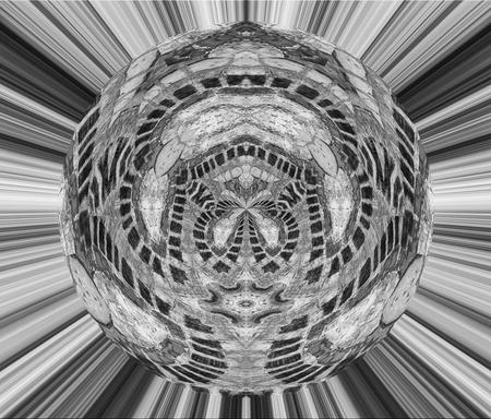 Op verzoek in zwart/wit - - - foto door monzambano op 30-12-2017 - deze foto bevat: abstract, fantasie, bewerking, creatief, manipulatie