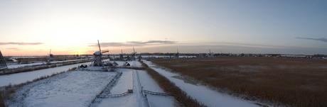 Koning Winter heerst over Holland
