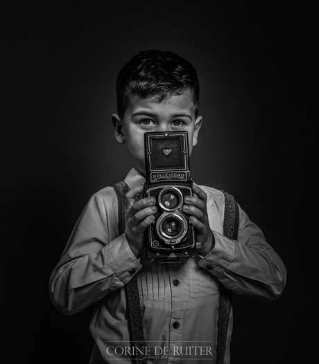 the boy with the cool camera