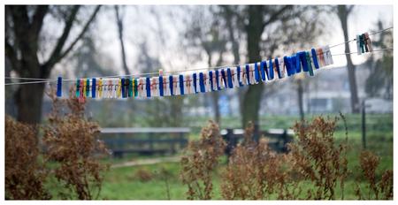 Waslijntje - Zonder wasje want het was zondag! - foto door Siem67 op 11-11-2009 - deze foto bevat: zaanse, schans, zaanseschans