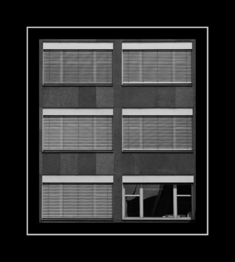 Abstract zwartwit