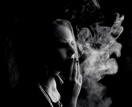 Wreath of smoke
