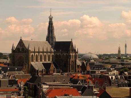 zicht over Haarlem