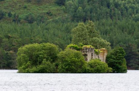 Loch an eilein, Schotland