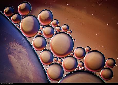 Universum bubbels.