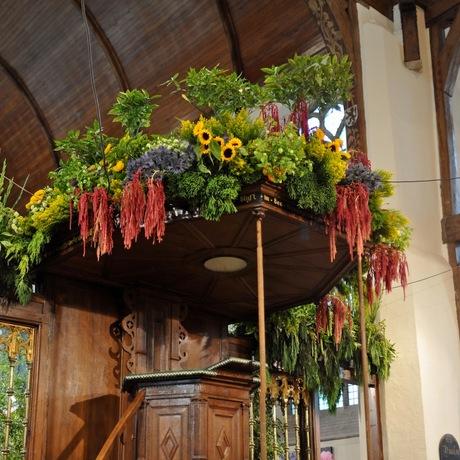 Bloemen kerk Naaldwijk