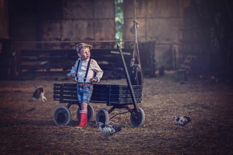 Waar het boerenleven nog echt romantisch is....