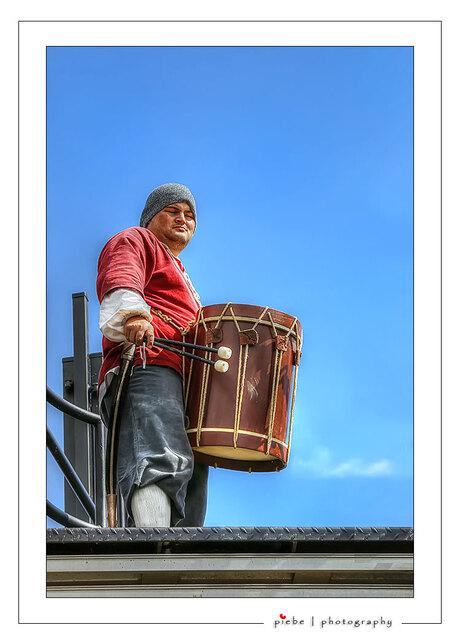 De trommelaar van de Batavia