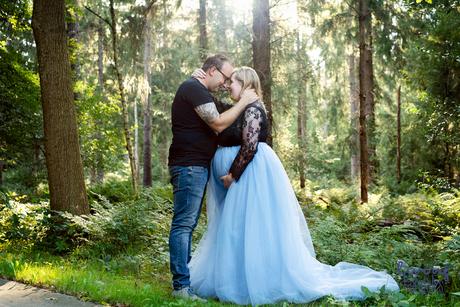 liefde voor elkaar en de zwangerschap