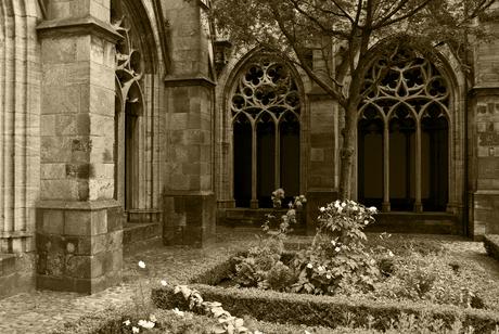 Kerk gang buitenkant