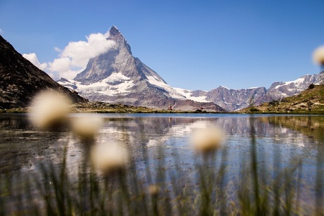 Zermatt in de bergen