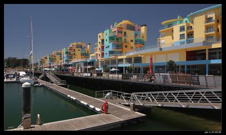 Jachthaven van Albufeira