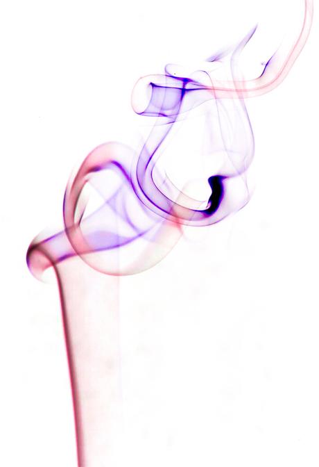 Pink Ribbon Smoke