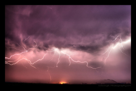 thunderstorm close