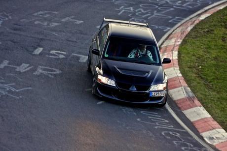 Evo op de Nürburgring