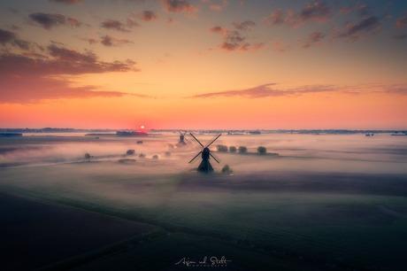 Sunrise @ The Netherlands