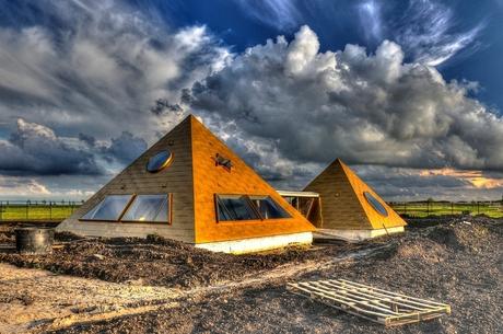 Pyramidewoning in Almere