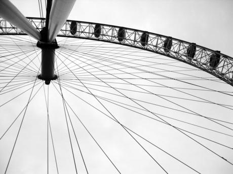 London Eye Black & White